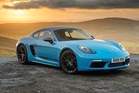 Porsche 718 Cayman Side Front View