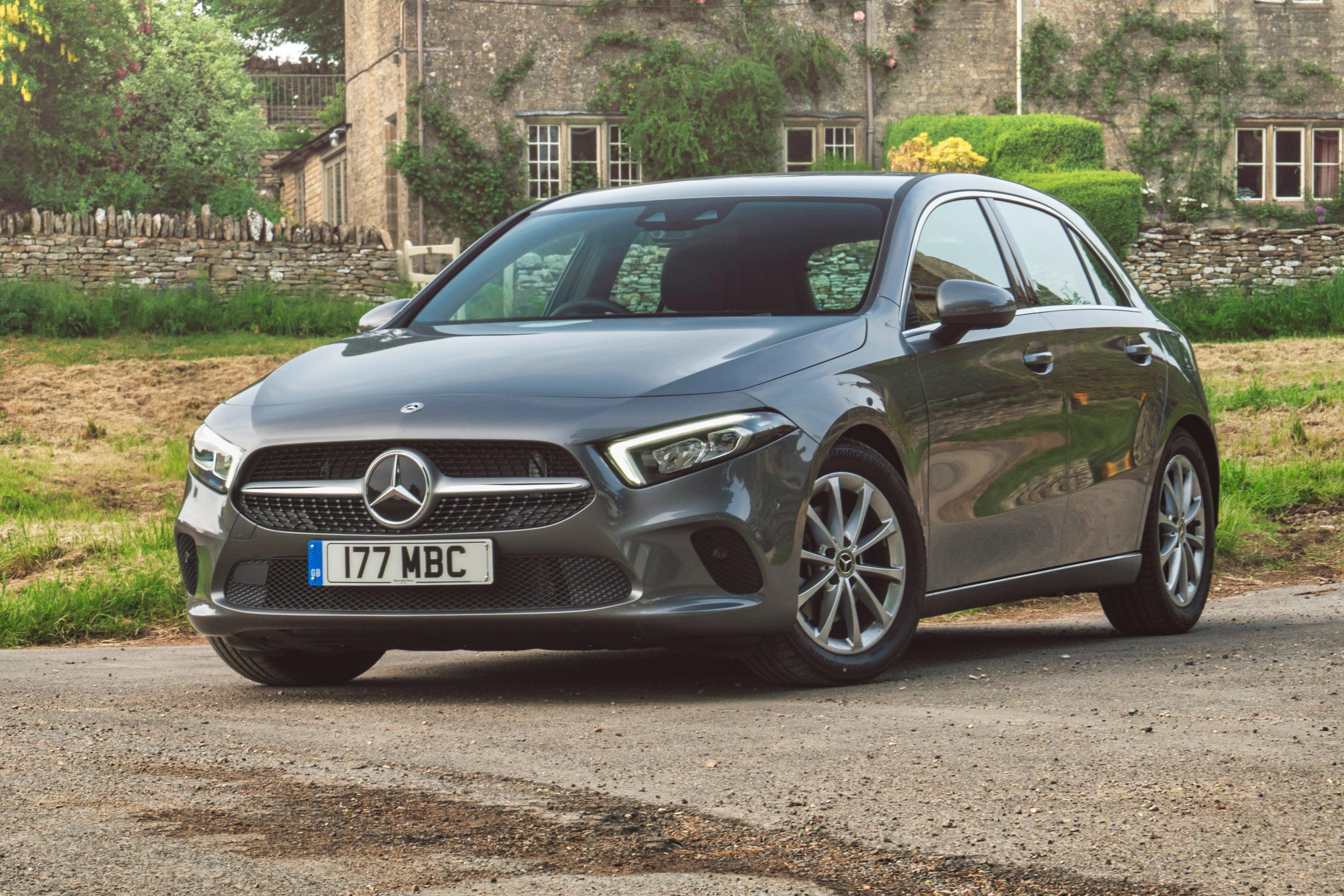 Mercedes A-Class 2018 front