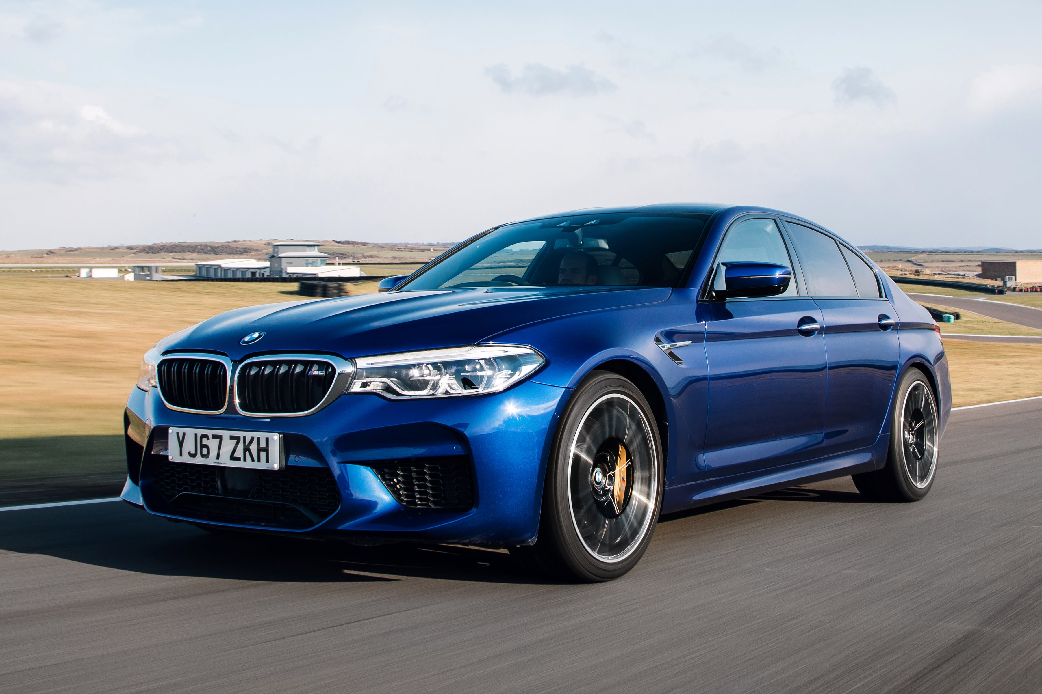 BMW M5 Driving Front