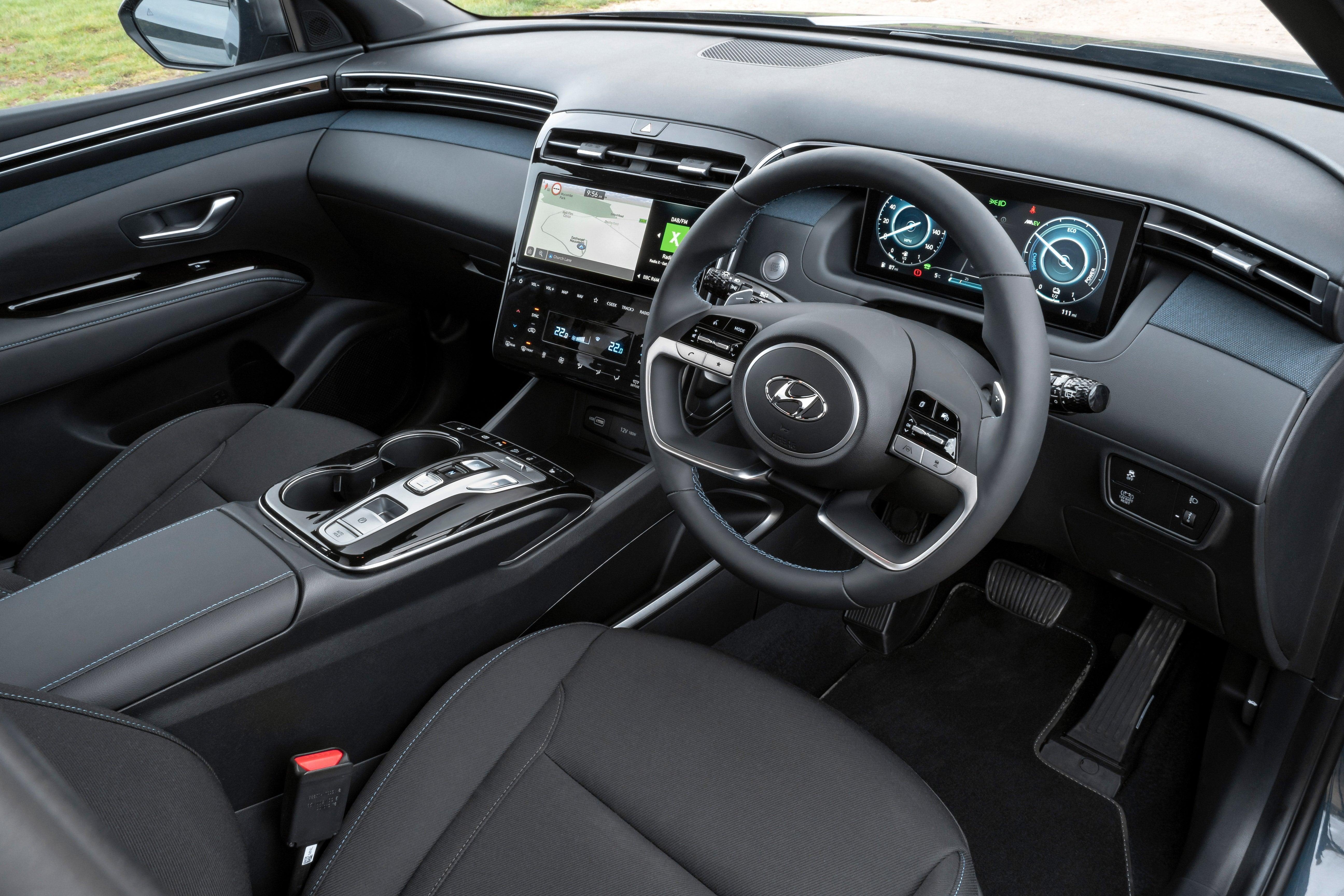 Hyundai Tucson Review 2021: interior