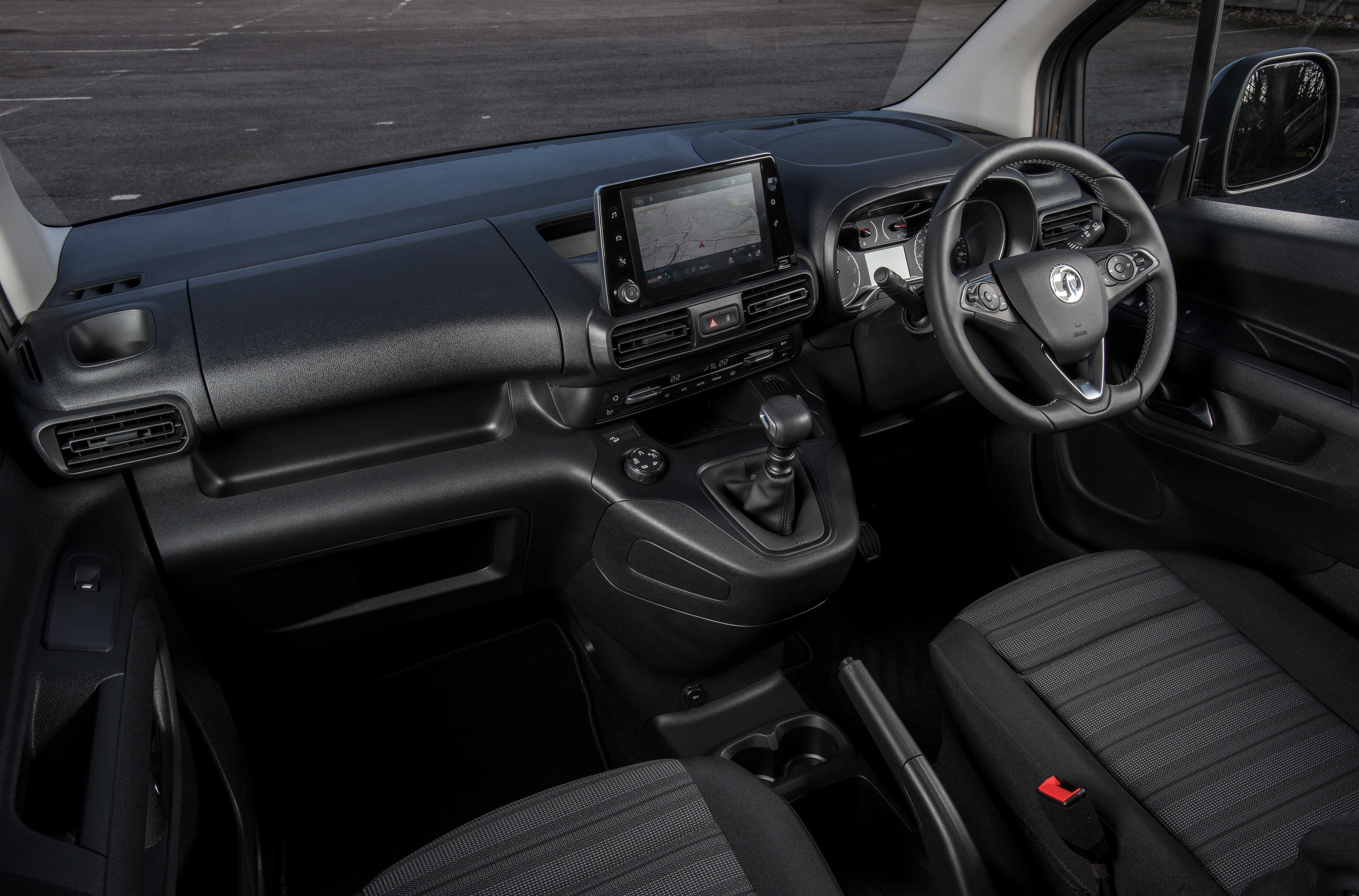 Vauxhall Combo Life Front Interior