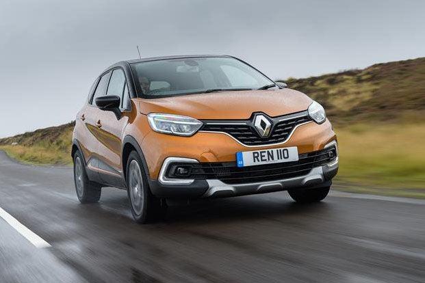 Renault Captur Front View