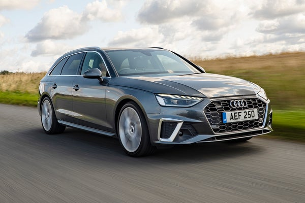 Audi A4 Avant Driving Front