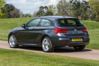 BMW 1 Series Driving Back