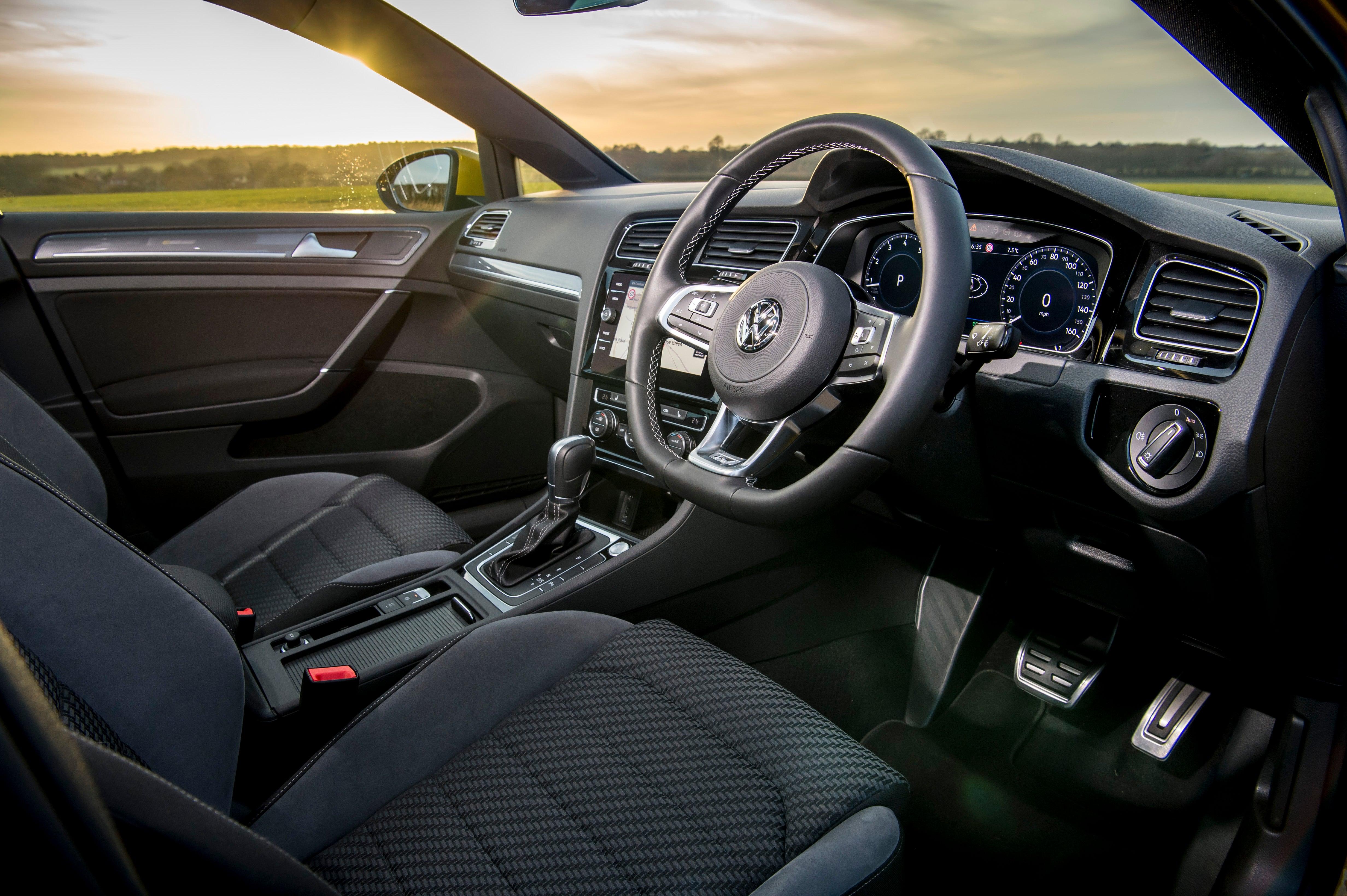 Volkswagen Golf Front Interior