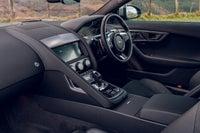 Jaguar F-Type front interior