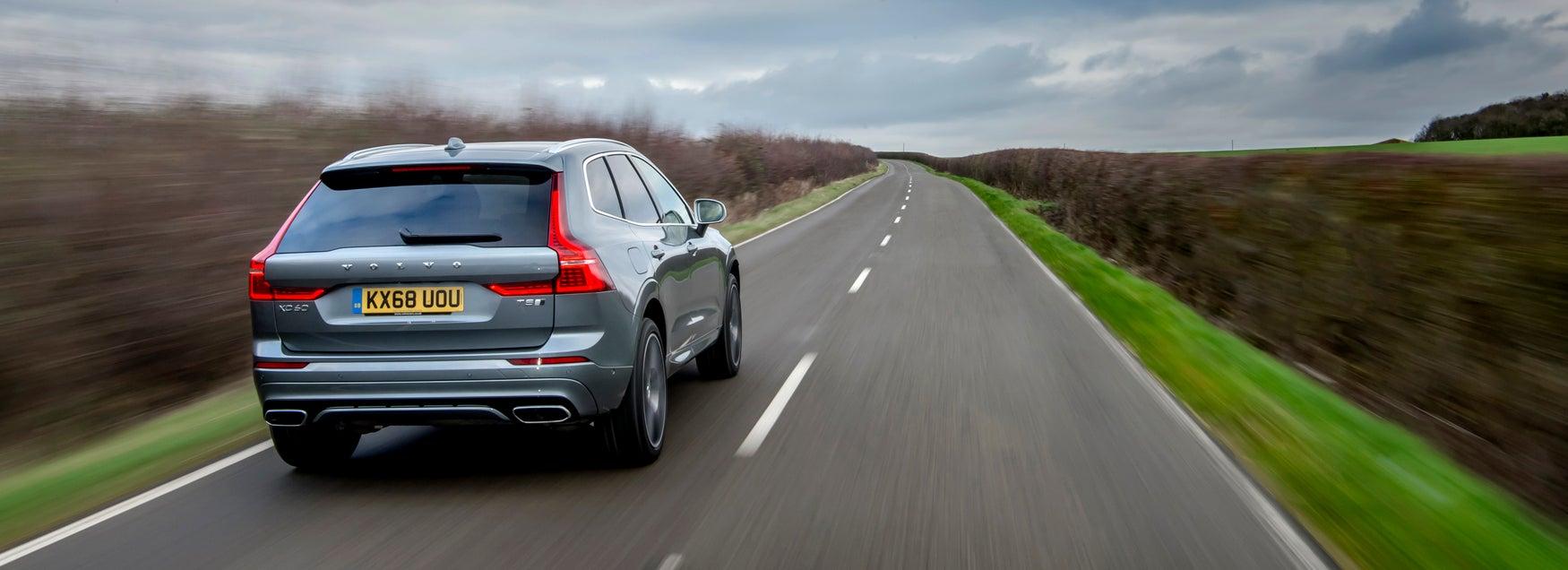 Volvo XC60 lane assist