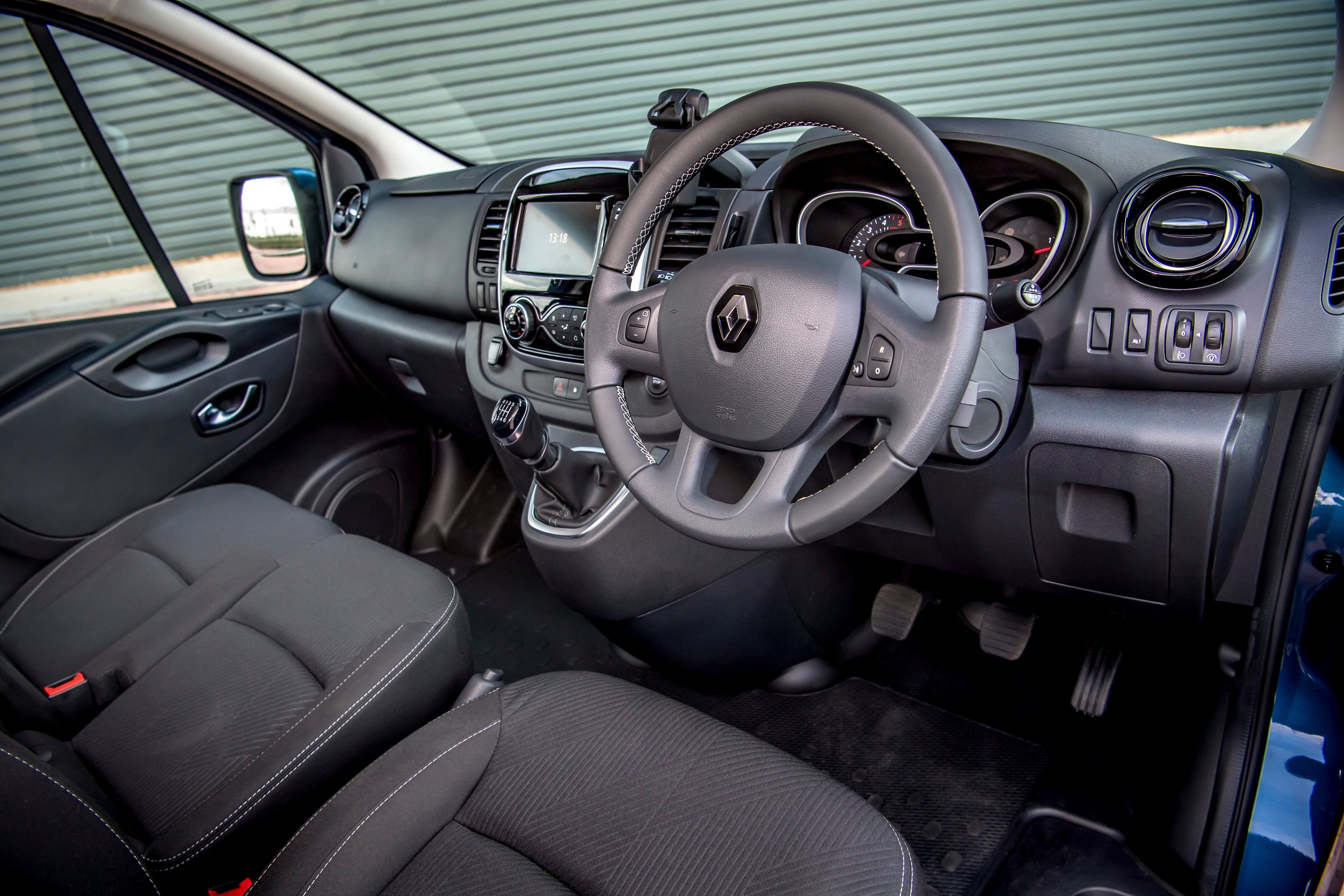 Renault Trafic Front Interior