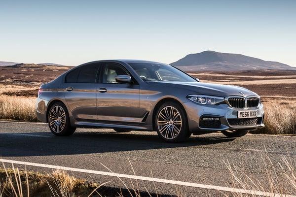 BMW 5 Series Exterior Side