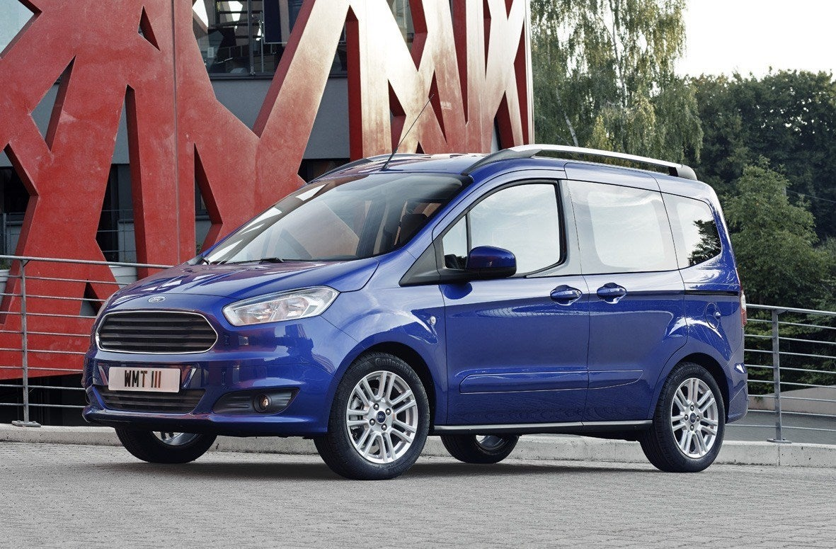 Ford Tourneo Courier Side