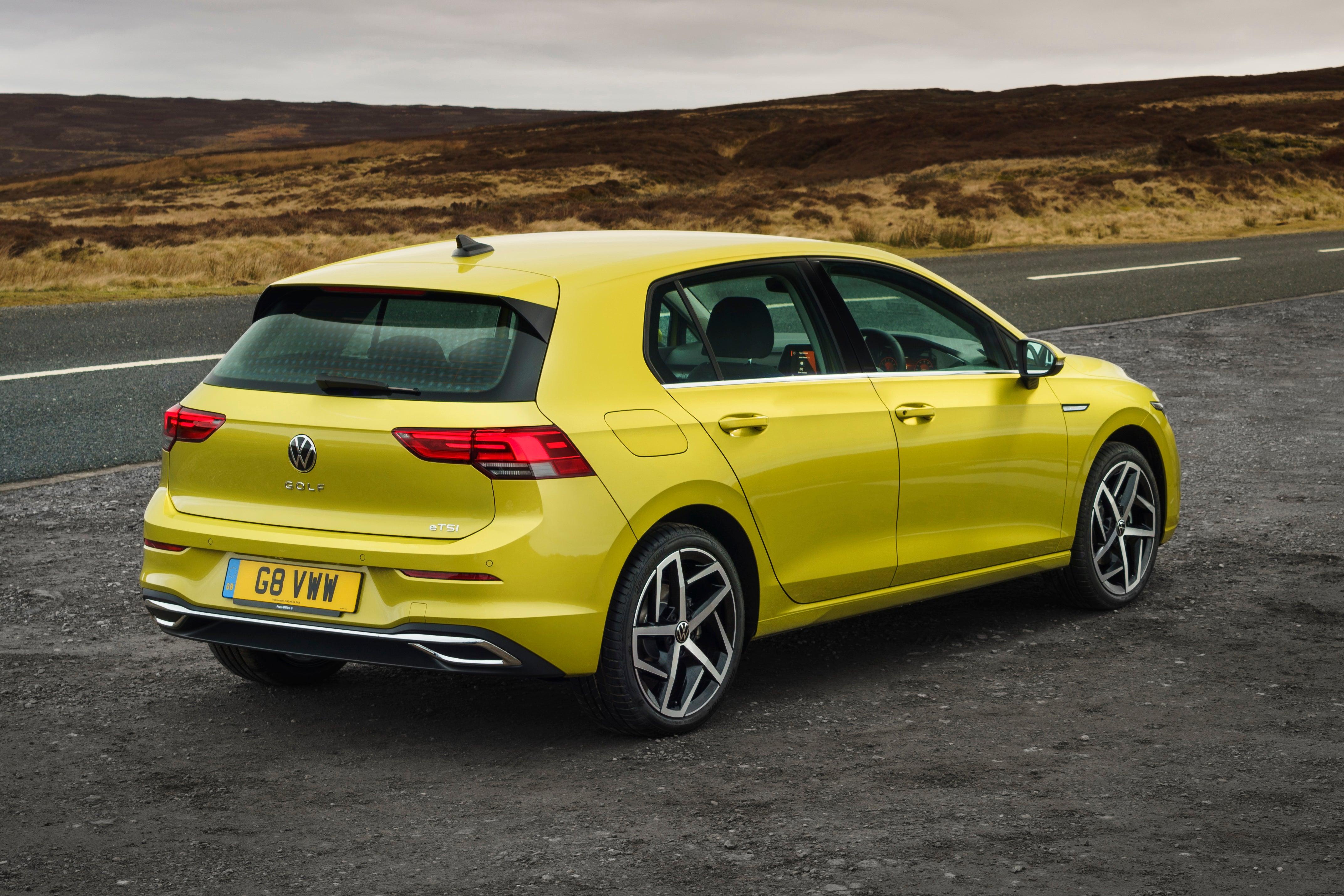 Volkswagen Golf Side Rear View