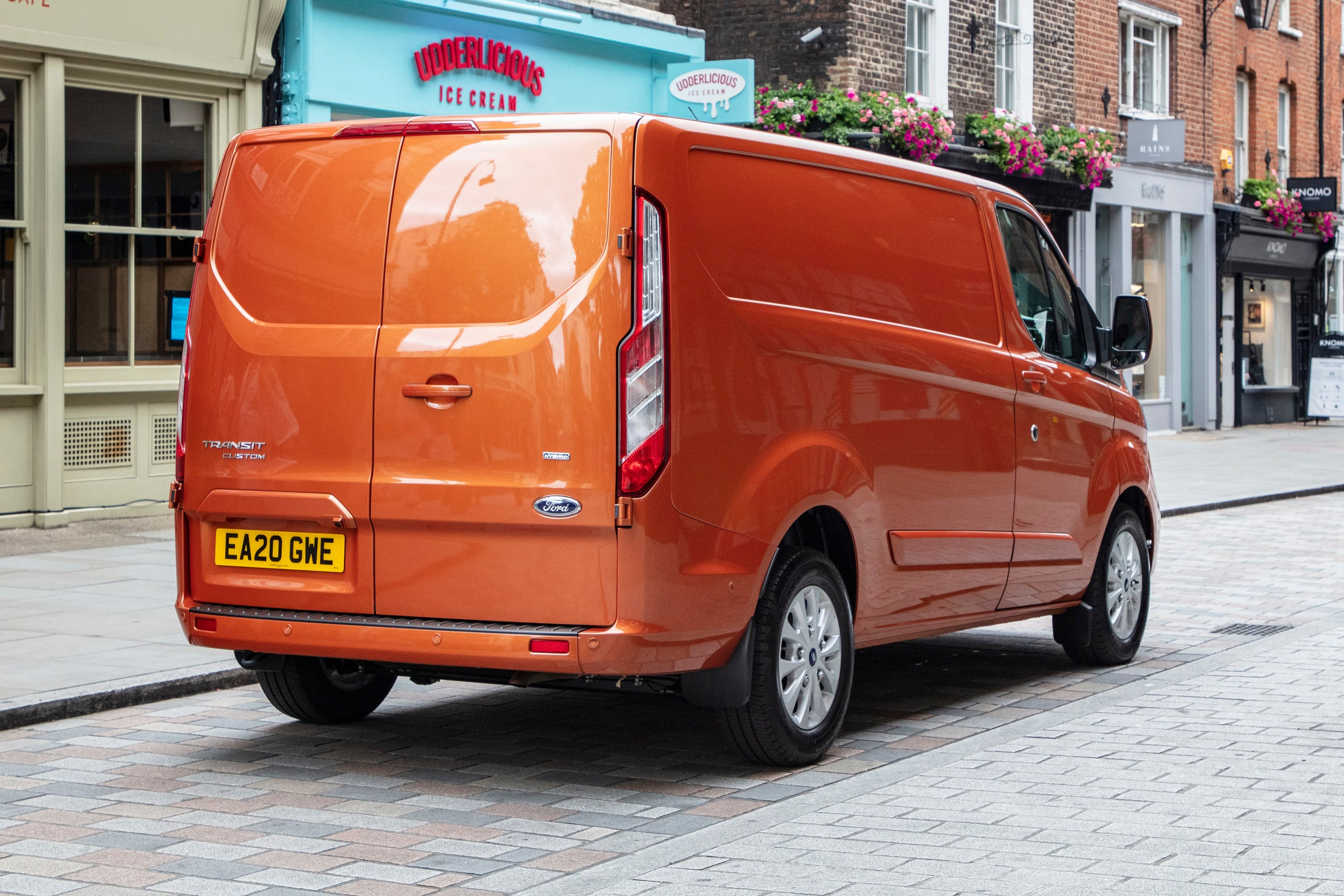 Ford Transit Custom rear