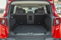 Jeep Renegade boot open
