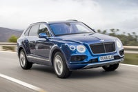 Bentley Bentayga Driving