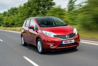 Nissan Note Review 2021 exterior front moving