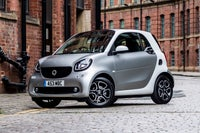 Smart EQ Fortwo Front Side View