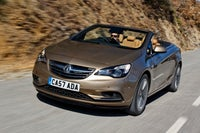Vauxhall Cascada Front Side View