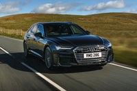 Audi A6 Avant Driving Front