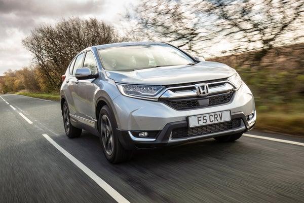 Honda CR-V 2018 frontright exterior