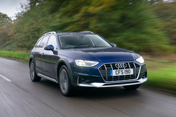 Audi A4 Allroad Driving