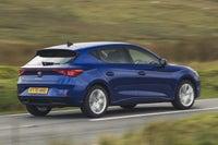 SEAT Leon exterior dynamic blue