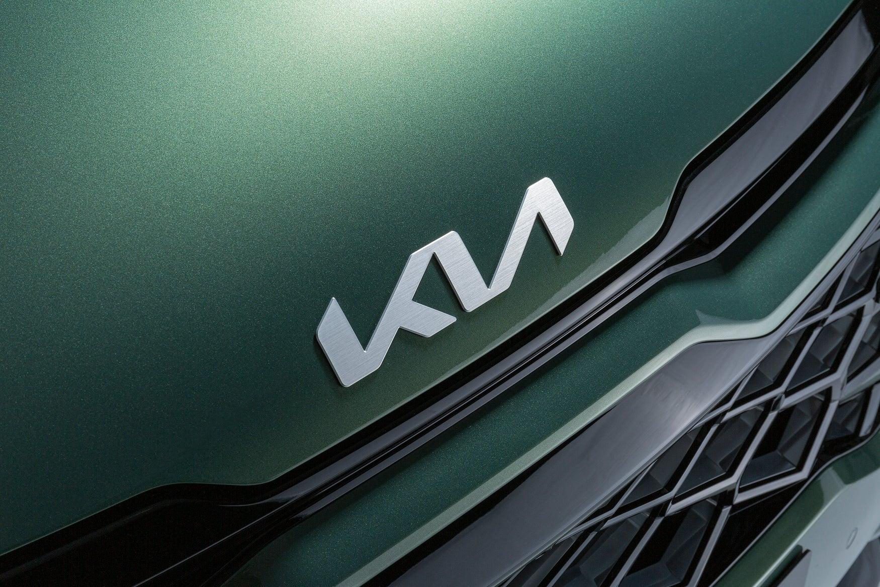 2022 Kia Sportage badge