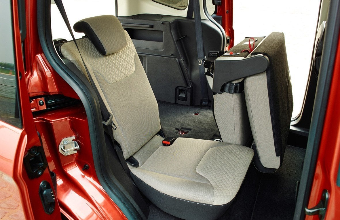 Ford Tourneo Courier Back Seats
