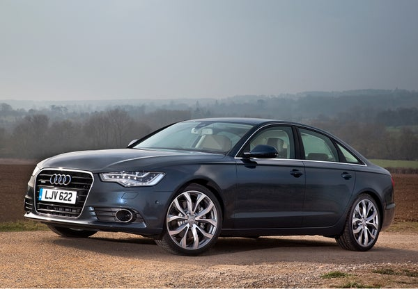 Audi A6 Driving Front