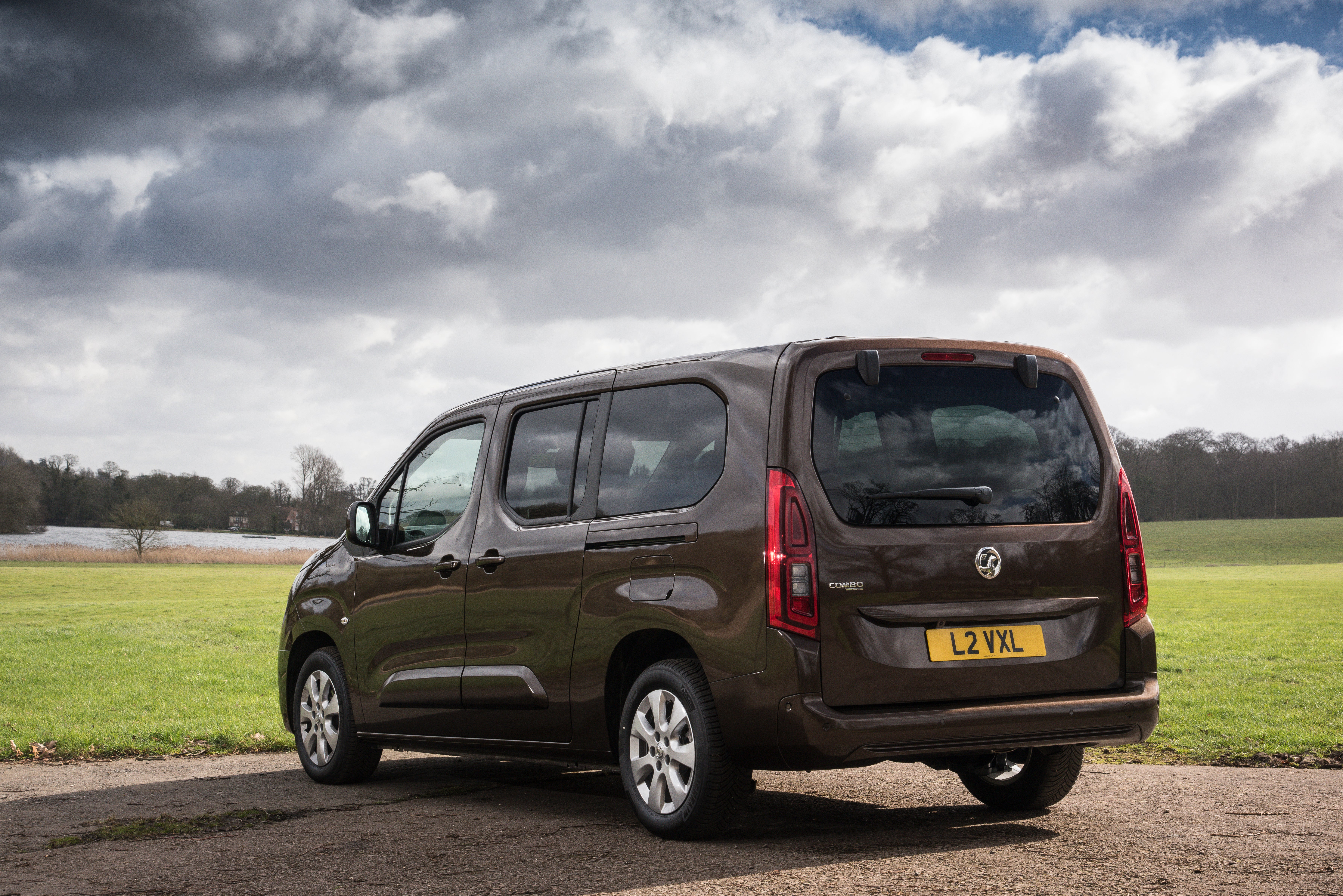 Vauxhall Combo Life Rear Side View