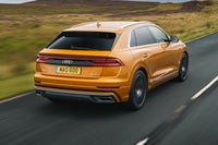 Audi Q8 Driving Back