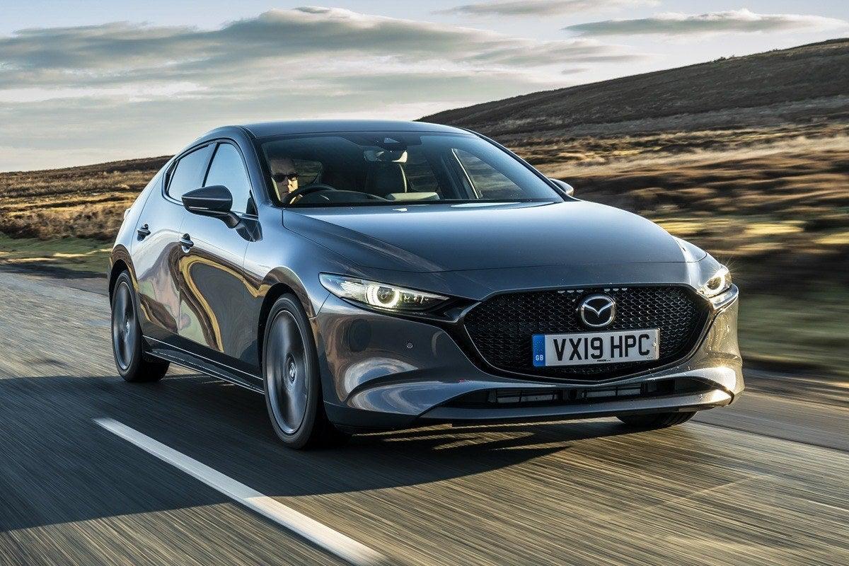 Mazda 3 (2019) front