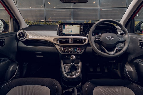 Hyundai i10 interior.