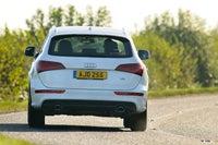 Audi Q5 Driving Back