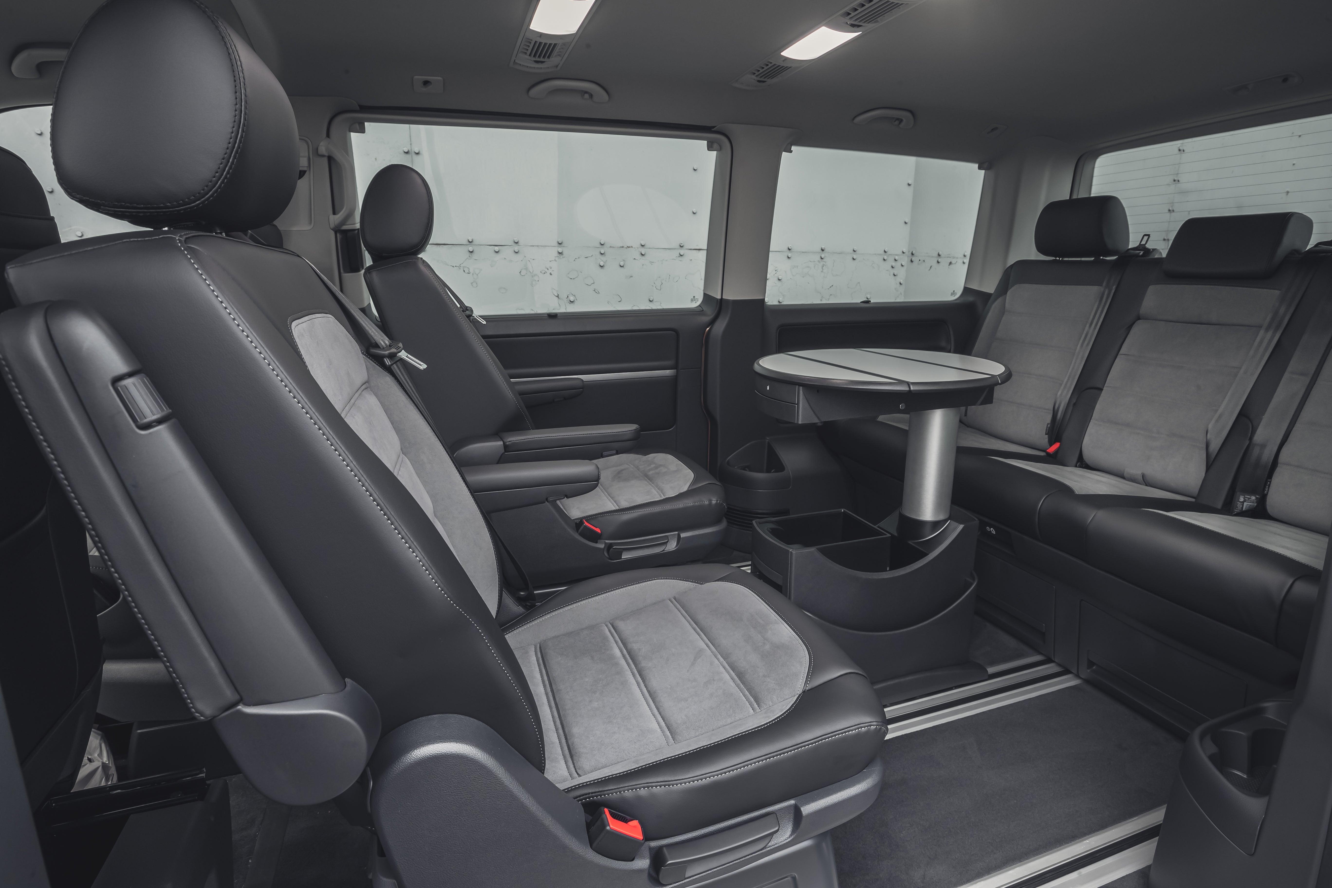 Volkswagen Caravelle Back Car Seats