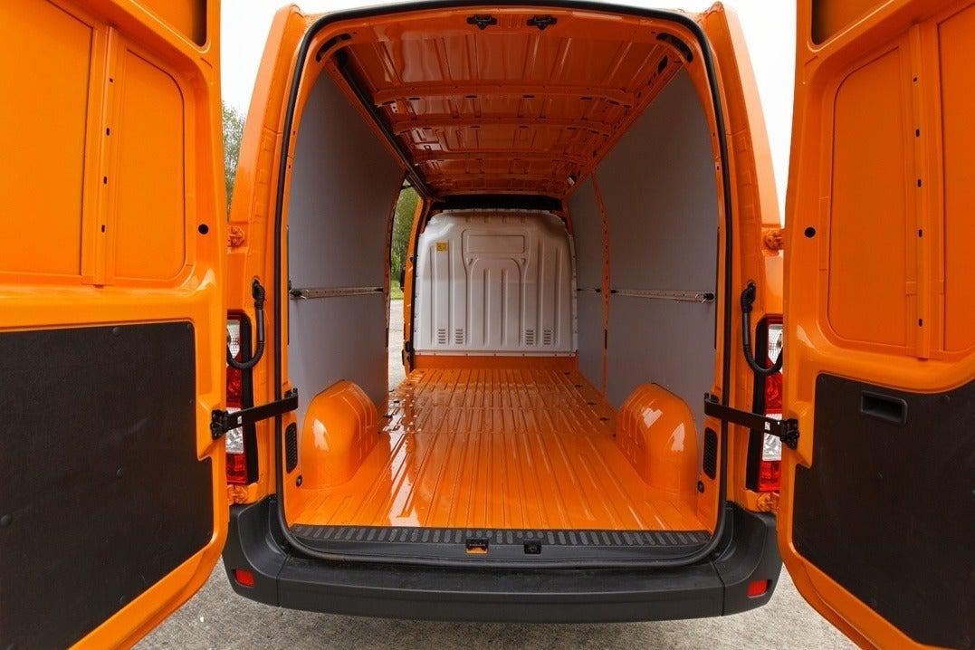 Vauxhall Movano Inside Van