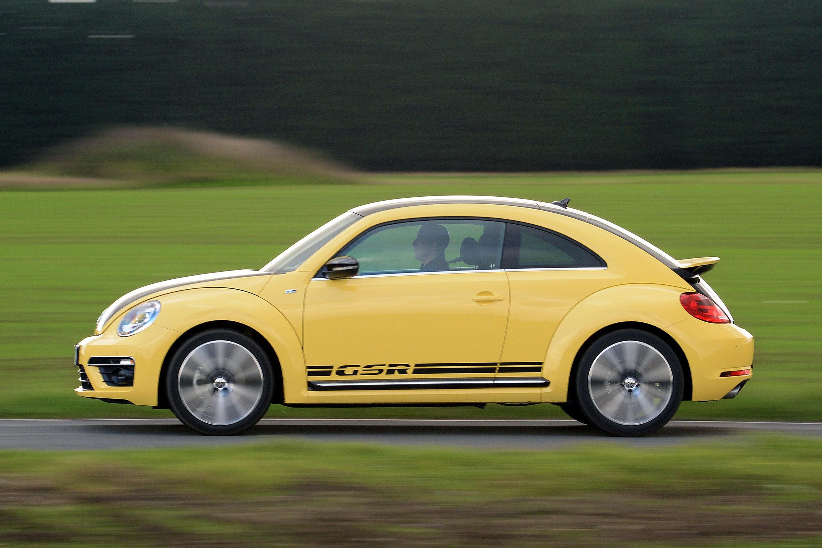 Volkswagen Beetle Left Side View