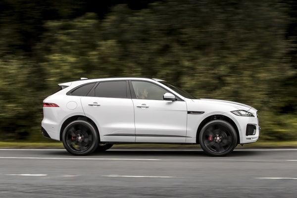Jaguar F-Pace rightside exterior