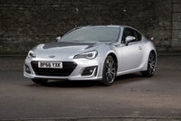 Subaru BRZ Front Side View