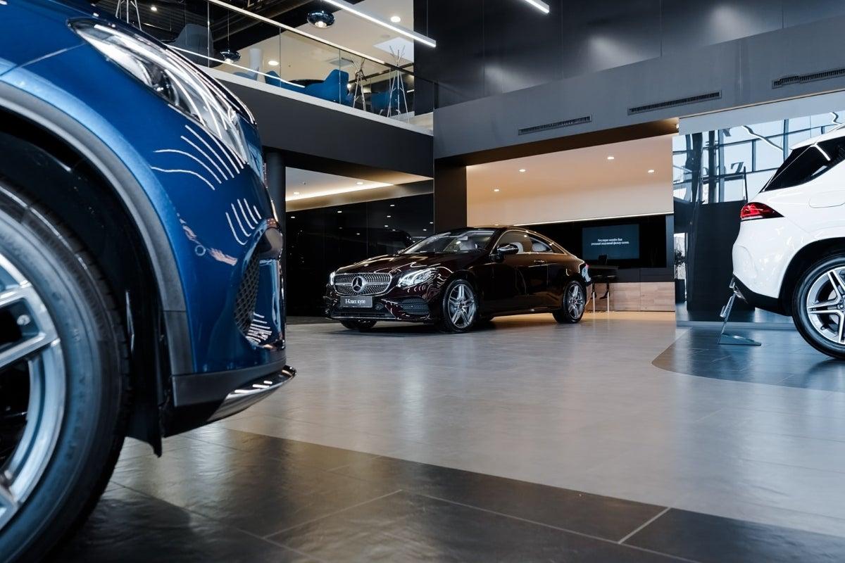 Mercedes showroom
