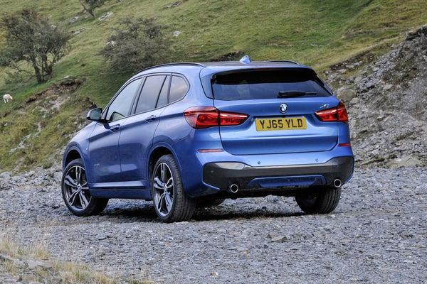 BMW X1 Back