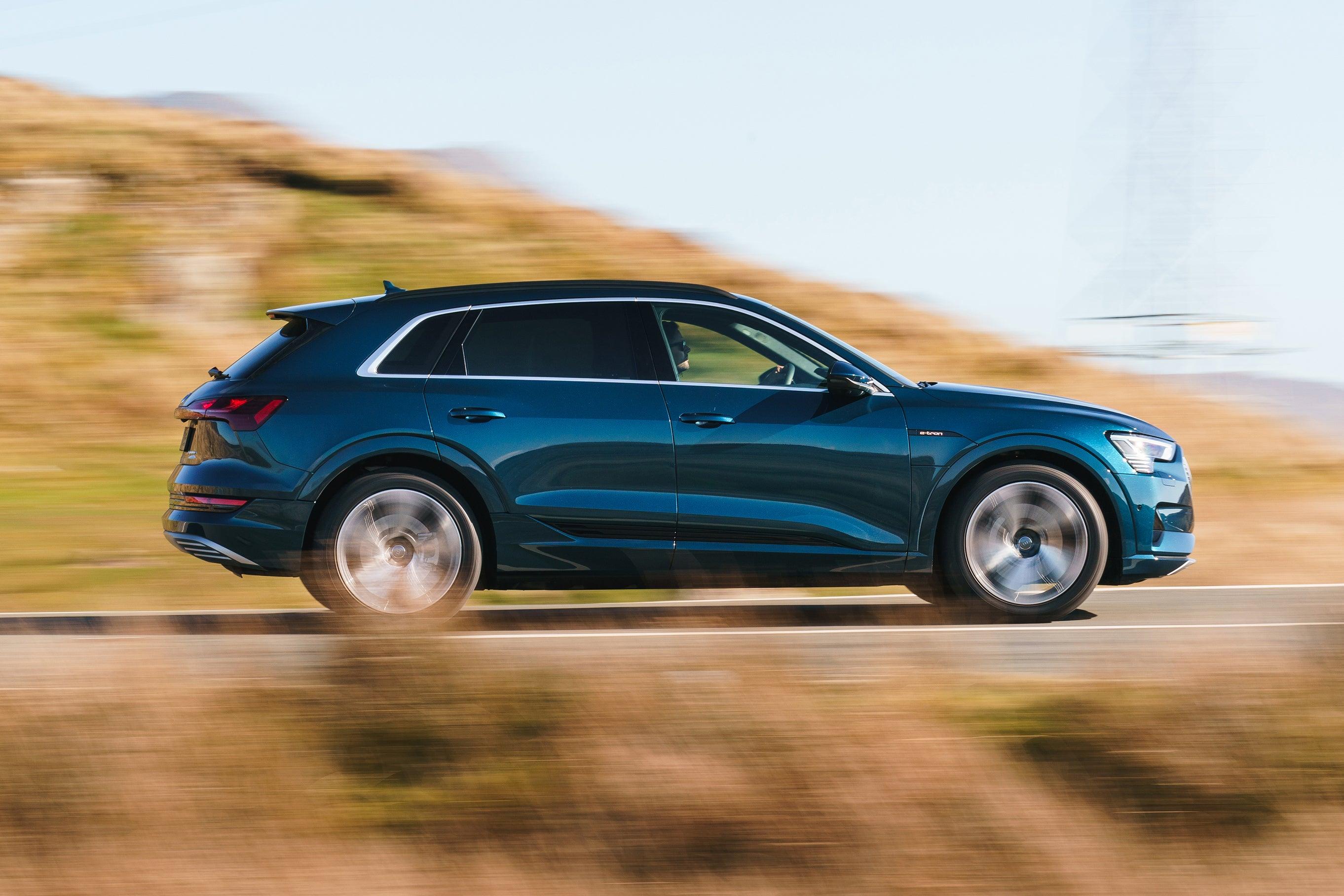 Audi e-tron Driving Side