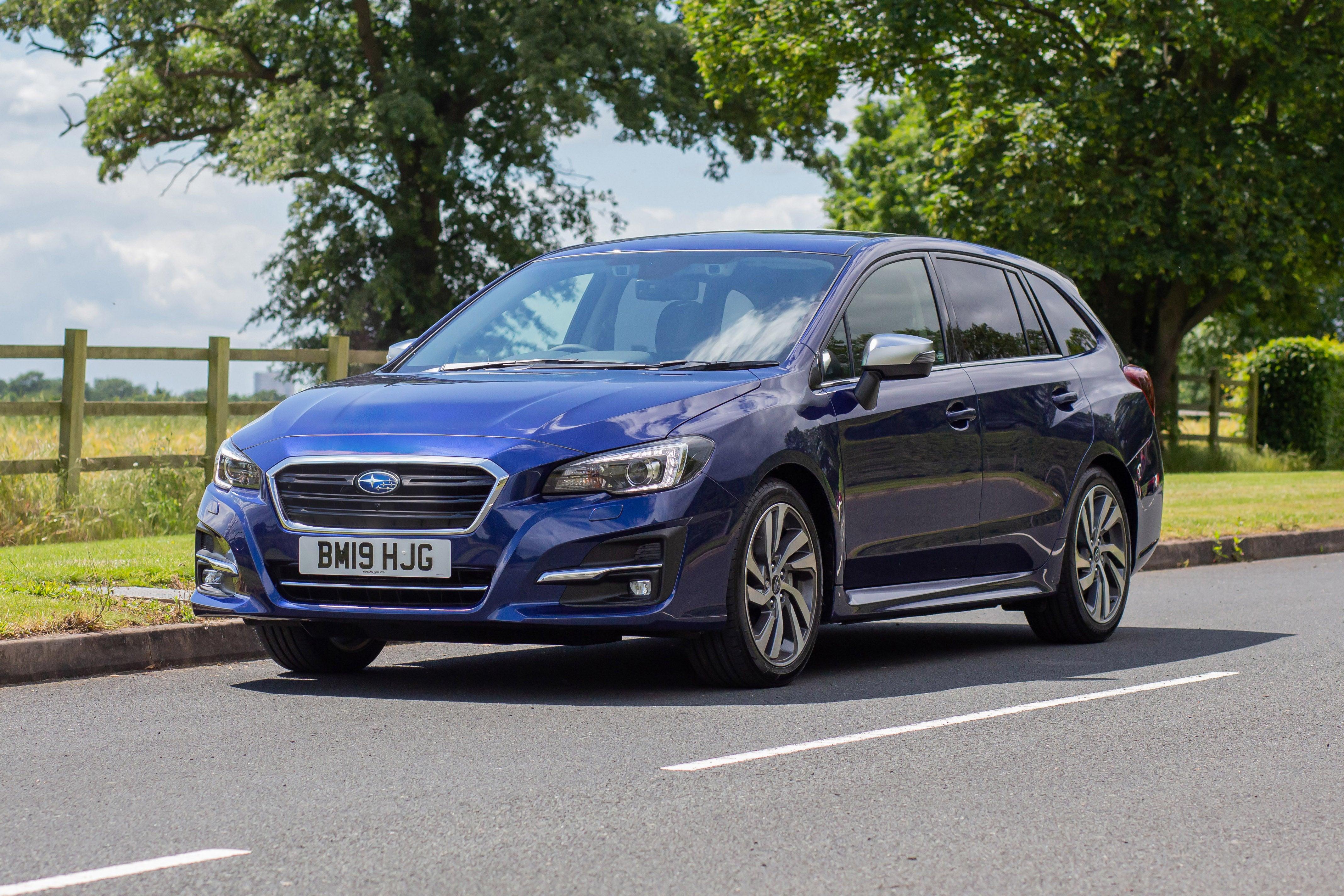 Subaru Levorg Front Side View