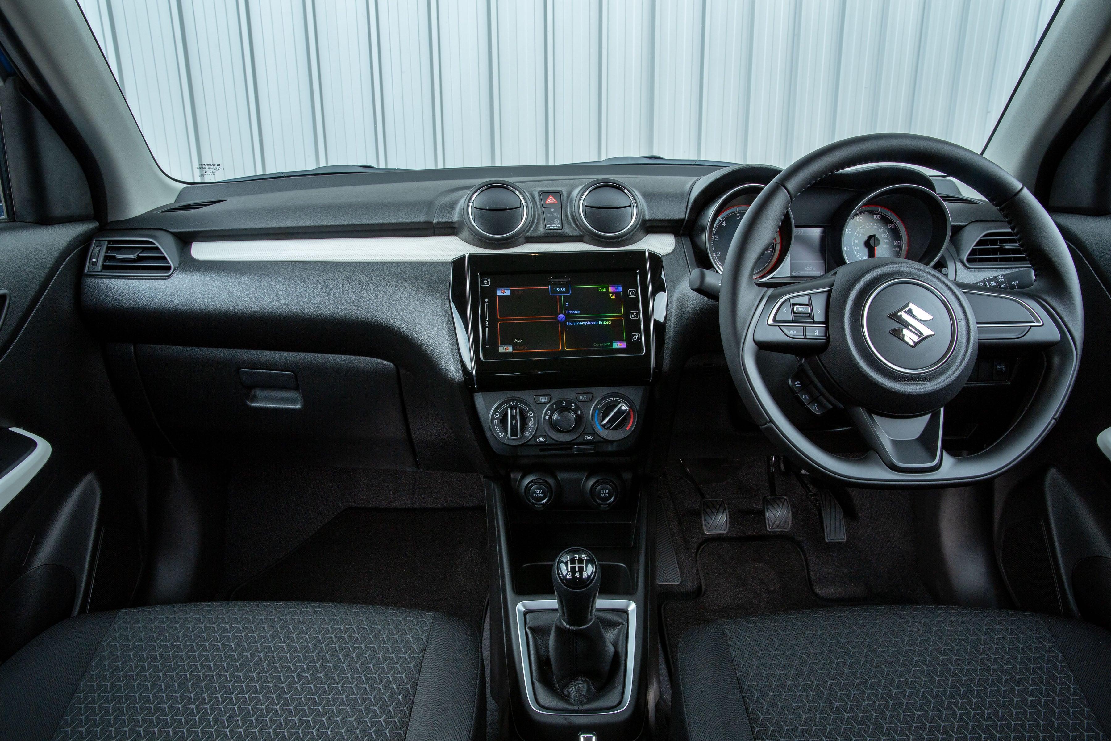 Suzuki Swift Front Interior
