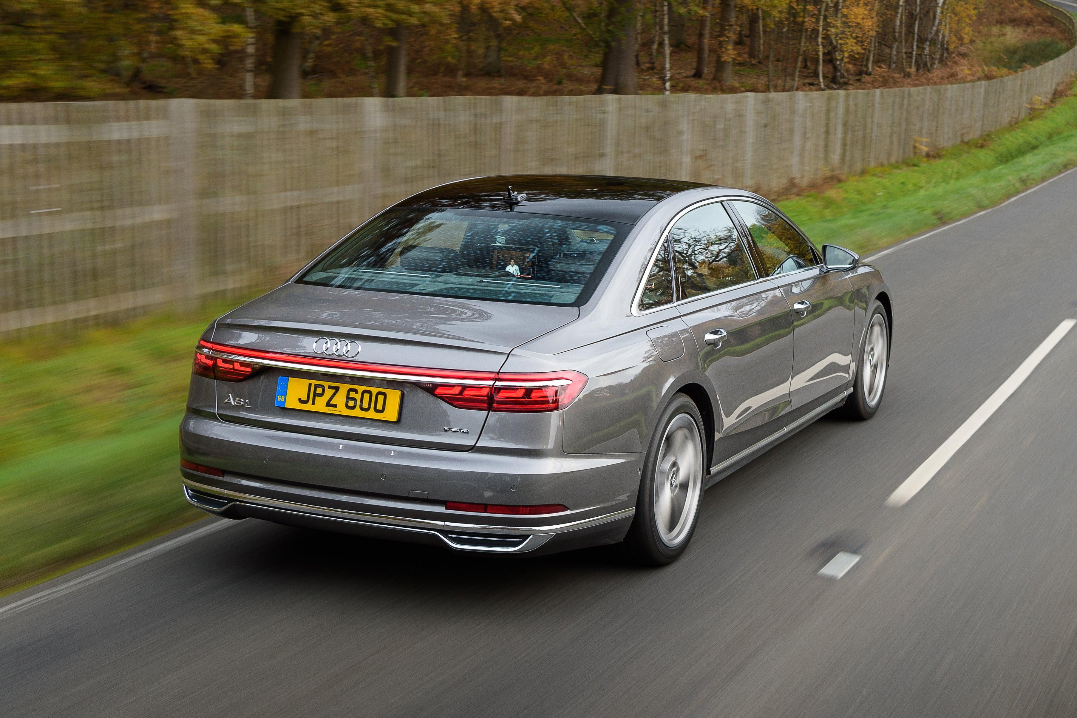 Audi A8 Driving Back