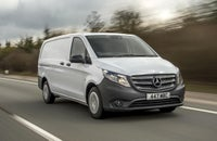 Mercedes-Benz Vito driving