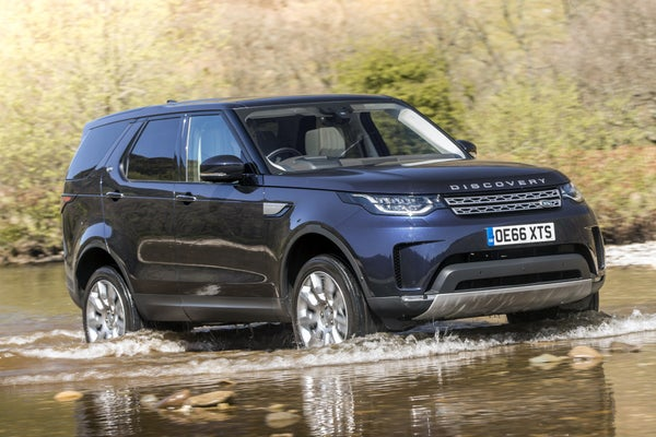 Land Rover Discovery  2017frontright exterior