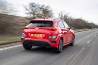 Hyundai Kona Review 2021 exterior moving rear
