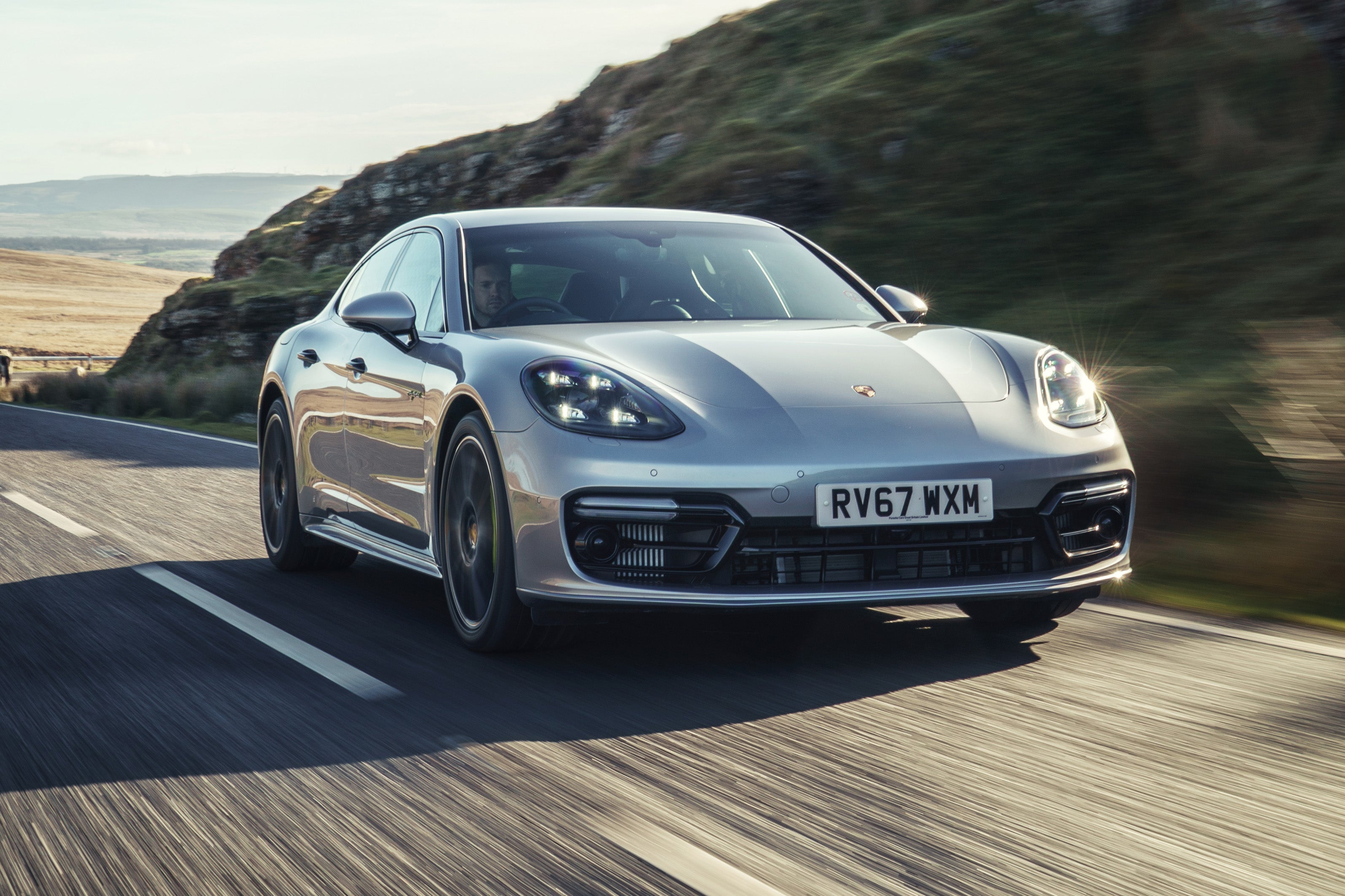 Porsche Panamera Front View