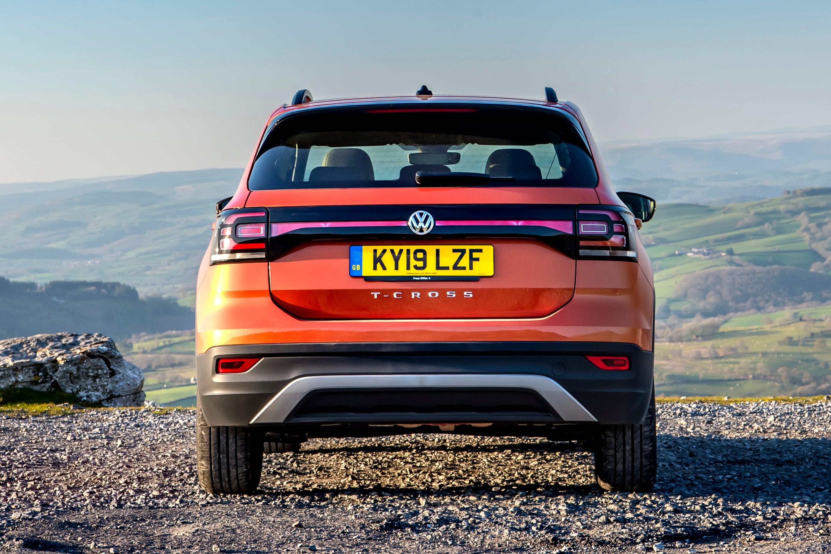 Volkswagen T-Cross Rear View