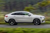Mercedes GLE Coupe side profile